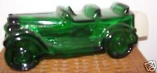 Avon Vintage Green Glass Car Decanter 69-71 era - Nice Gift for Dad - no chips