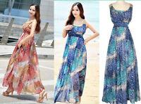 Maxi Dresses Blue Leopard Print Full Length  Fit AU Sizes 10 12 14 16 18 BNWT!