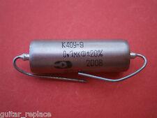 Condensador  0.1 uF 200V Capacitor Aceite Paper In Oil PIO NOS