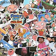 55pcs Family guy stewie brian peter cartoon Sticker for scrapbooking Toys Laptop