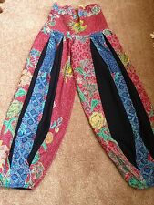 GORGEOUS HAREM PANTS( Only, No Shirt) hand embroidery/new/ No special size/
