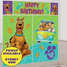 SCOOBY DOO PARTY SUPPLIES SCENE SETTER DECORATING KIT BIRTHDAY DECORATIONS