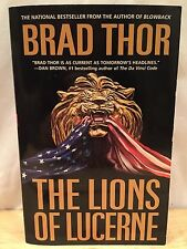 *VG*  Scot Harvath: The Lions of Lucerne No. 1 ~ Brad Thor (1ST, 2005, Printing)