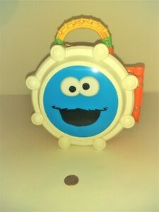 Sesame Street Folding Carry Bongo Drum Box