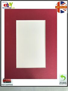 Rectangular Card Picture Mounts  choice of colour frame 14x11' aperture 10x7'