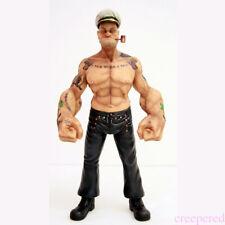 "12"" Headplay Popeye 1/6 FIGURE The Sailor Resin Statue TATTOO BODY Model"
