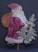 Aufsteller / Nikolaus, Weihnachtsmann, Santa aus Pappe um 1920 (# 6602