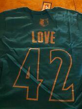 NWT NBA Adidas Minnesota Timberwolves Sz S Small Kevin Love 42 T-Shirt Tee Shirt