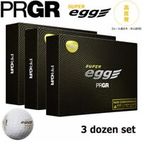 2018 PRGR Golf Ball Super Egg Ball NON-CFM 3 DOZEN BALL SET(36 Balls) Japan EMS