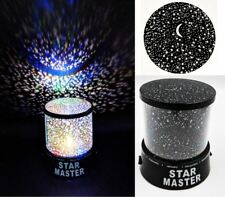 LED Star Projector Coloured Sky Night Light Childs Mood Christmas Disco Lamp