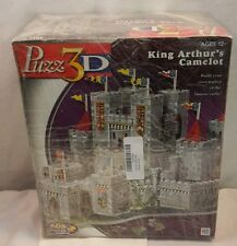 Milton Bradley Puzz 3D King Arthur's Camelot 608 Piece Puzzle