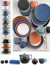 New Sasaki Colorstone Birch Cup u0026 Saucer Made in Japan Vignelli Assoc. & Sasaki Dinnerware and Serving Dish   eBay