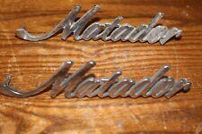 "AMC ""MATADOR"" Fender Trim From an Early 1970's Car Part Number 3633534"