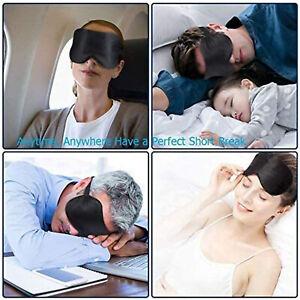 Natural Silk Sleep Mask Blindfold Eye Mask Super Smooth Fully Adjustable Strap