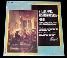 KALKBRENNER/SPOHR QUINTETS FOR CLARINET-HORN-CELLO-BASS-BASSOO-PIANO SEALED LP