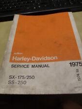 Manuel atelier AMF HARLEY DAVIDSON SX-175/250  SS - 250
