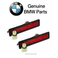 For BMW E32 E34 Rear Red Side Marker Lens Pair Set Left+Right OES 63141376978