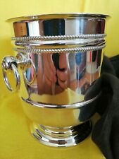 """Vintage Christofle France Silver Plated """"Perles"""" Ice Bucket VGC"""