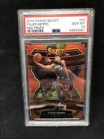 2019-20 Select CONCOURSE Tyler Herro RC Rookie Red Prizm #63 /199 PSA 10 C63