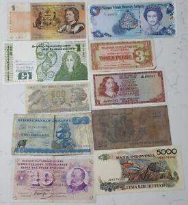 MIXED REGIONS - 10x Bank Notes