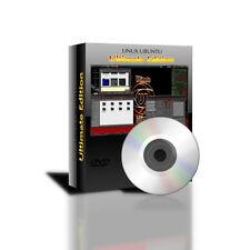 "64 Bit Linux Ubuntu ""Ultimate Edition"" replacement for Windows XP Vista 7 DVDRom"