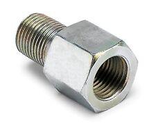 "Autometer Oil Press Temperature Metric Adapter 1/8"" NPT Female to 1/8"" BSPT Male"