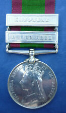AN AFGHANISTAN MEDAL 1881 TO THE KING'S ROYAL RIFLES
