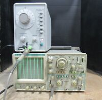 B+K Precision 2190 100Mhz Dual Trace Oscilloscope For Parts or Repairs
