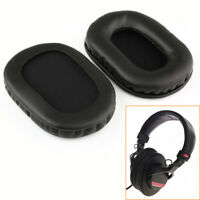 1 Pair  For SONY MDR-7506 MDR-V6 MDR-CD900ST PU Leather Replacement Ear Pads