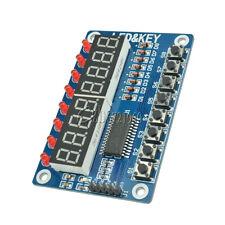8-Bit Digital LED Tube 8-Bit TM1638 8 Key Display Module For AVR Arduino
