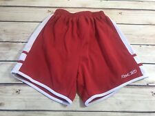RBX Kids Childrens Boys Size L Red White Gym Athletic Shorts Sports Outdoor Wear