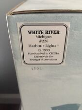 New - Harbour Lights Lighthouse 1999 - White River, Michigan #226