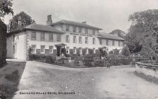 GILSLAND, CUMBRIA - THE ORCHARD HOUSE B&W POSTCARD