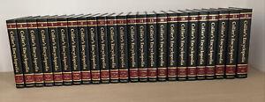 Collier's Encyclopedia Complete Set 24 Volumes 1989 Vintage Antique VGUC