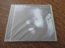 cd album barry white let the music play