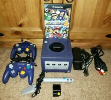 AWESOME Original Nintendo Gamecube 100% COMPLETE & TESTED + Mario Party 4 & MORE