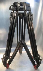 SACHTLER ENG 2CF HD Carbon Stativbeine 2-stufig, 100mm mit Bodenspinne
