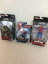Mavel Spiderman Legends and Others Action Figure Lot of 3