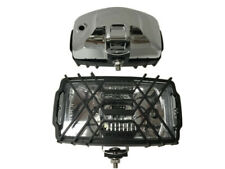 2x Scheinwerfer Halogenscheinwerfer CHROM H3 Zusatzscheinwerfer 123x220x120 SET
