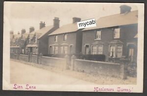 Postcard Haslemere Surrey houses in Lion Lane posted 1905 RP