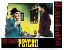 PSYCHO LOBBY SCENE CARD # 2 POSTER 1960 ANTHONY PERKINS MARTIN BALSAM HITCHCOCK