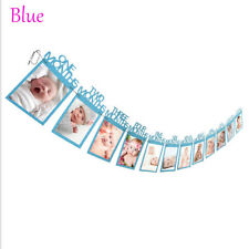 1st Birthday 12 Months Bunting Garland Photo Banner Baby Kids Party Decor New