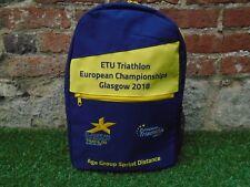 ETU Triatlón Europea Sprint campeonatos Glasgow acabadores Back Pack De 2018
