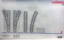 Marklin HO 5191 E Boxed Track Set - Brand New