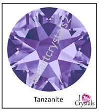 TANZANITE Purple 144 pieces 16ss 4mm Swarovski Crystal Flatback Rhinestones 2088
