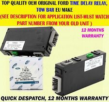 FOR FORD MONDEO SMAX GALAXY TOW BAR TRAILER CONTROL TIME DELAY RELAY MODULE