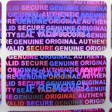 10000 RED Security Seal Hologram Tamper Evident Warranty Labels Sticker -NSRED30