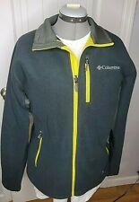 Columbia Interchange Fleece Jacket Zip Green Men Large Nice