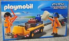 Playmobil 5396 Flugzeugschlepper mit Fluglotsen - Airport - City Action – Neu