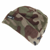 Childrens/Kids Camouflage Pattern Beanie Hat (HA604)